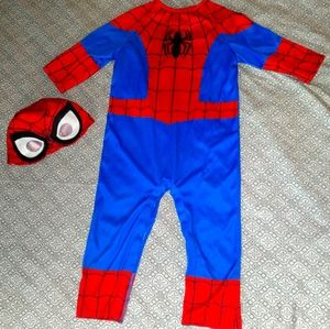 12-24M Spiderman Costume with Mask